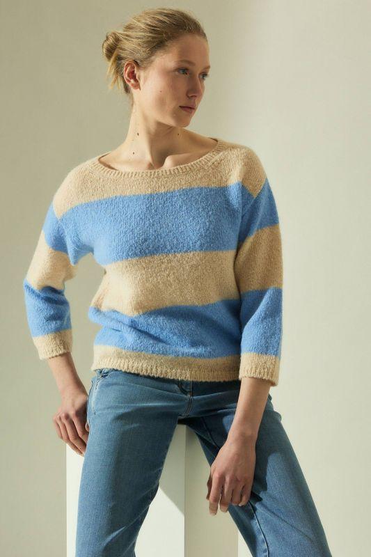 Pullover mit 3/4 Arm