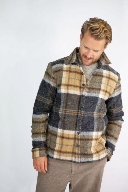 Wool Hemdjacke