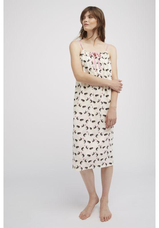 Cat Pyjama Kleid