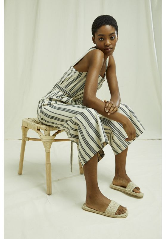 Rena Jumpsuit Striped