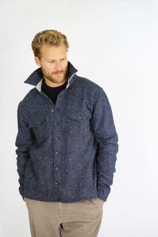 Dexter Wool Over Shirt