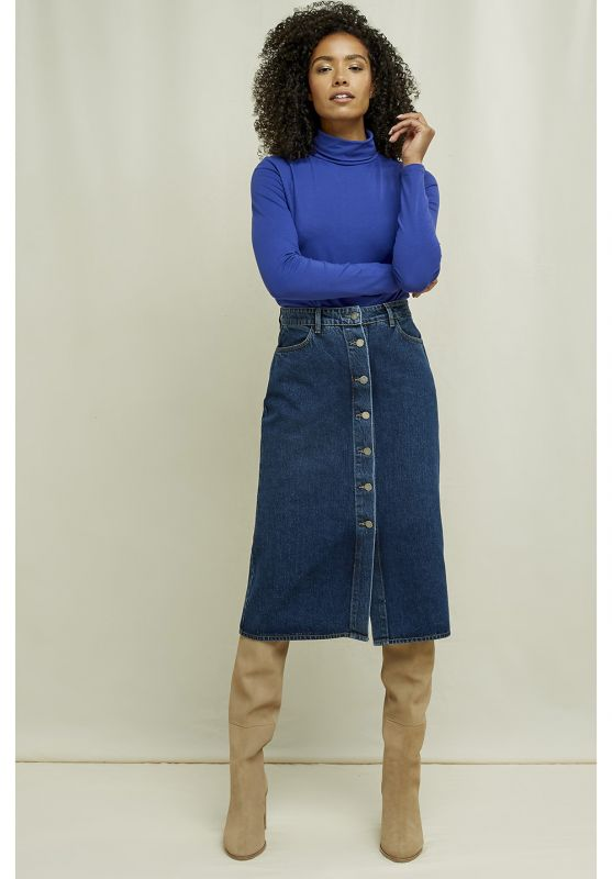 Stacey Denim Skirt