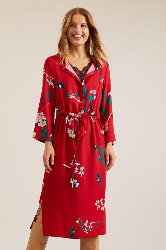 Midi Kleid Print