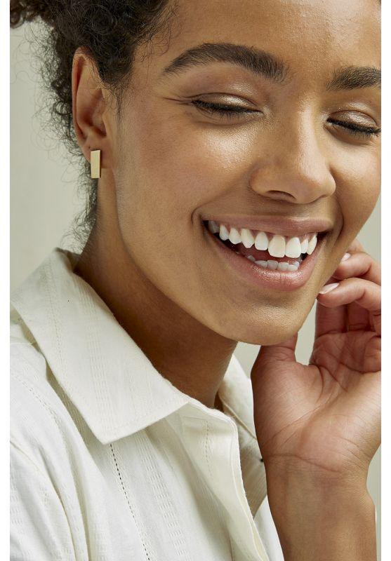 Short B.Earrings Brass